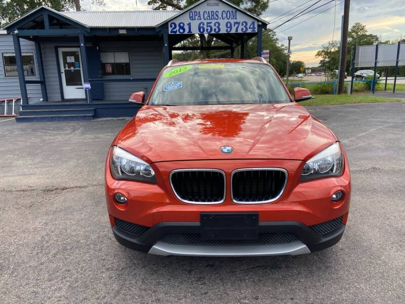 2013 BMW X1 for sale at QUALITY PREOWNED AUTO in Houston TX