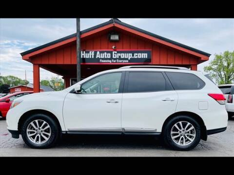 2015 Nissan Pathfinder for sale at HUFF AUTO GROUP in Jackson MI