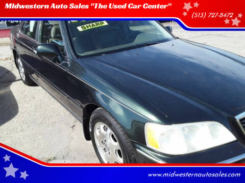 """2000 Acura RL for sale at Midwestern Auto Sales """"The Used Car Center"""" in Middletown OH"""