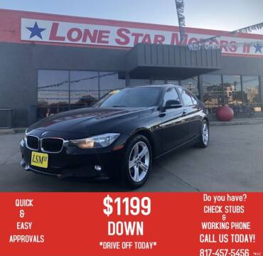 2015 BMW 3 Series for sale at LONE STAR MOTORS II in Fort Worth TX