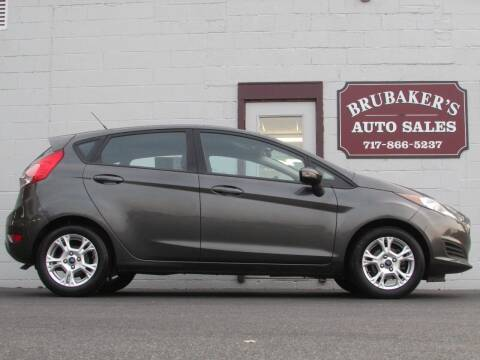 2016 Ford Fiesta for sale at Brubakers Auto Sales in Myerstown PA