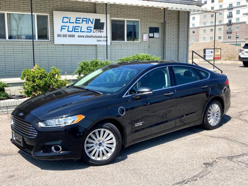 2014 Ford Fusion Energi for sale at Clean Fuels Utah - SLC in Salt Lake City UT