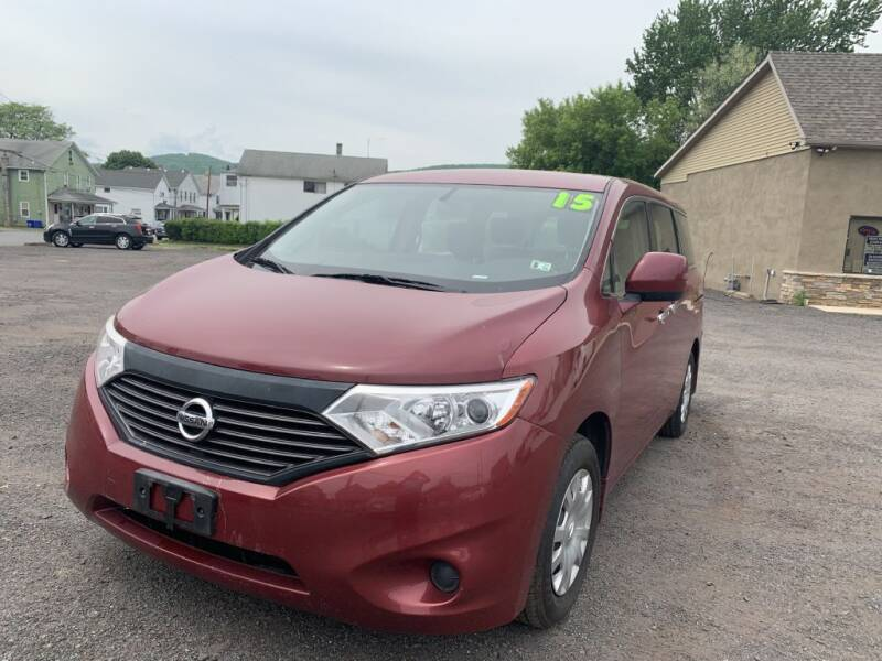 2015 Nissan Quest for sale at VINNY AUTO SALE in Duryea PA
