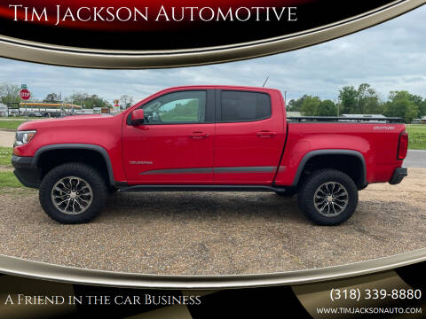 2017 Chevrolet Colorado for sale at Tim Jackson Automotive in Jonesville LA