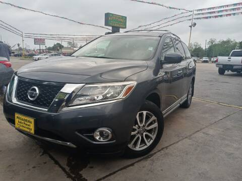 2013 Nissan Pathfinder for sale at Pasadena Auto Planet in Houston TX