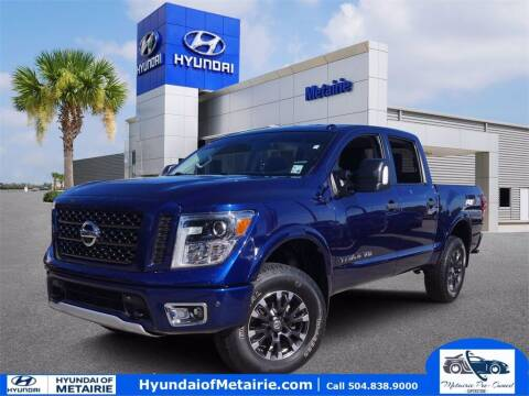 2018 Nissan Titan for sale at Metairie Preowned Superstore in Metairie LA