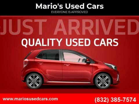 2014 Chevrolet Cruze for sale at Mario's Used Cars in Houston TX