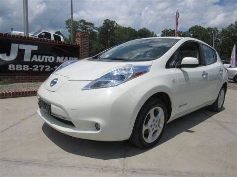 2012 Nissan LEAF for sale at J T Auto Group in Sanford NC