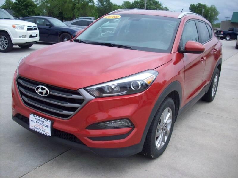 2016 Hyundai Tucson for sale at Nemaha Valley Motors in Seneca KS