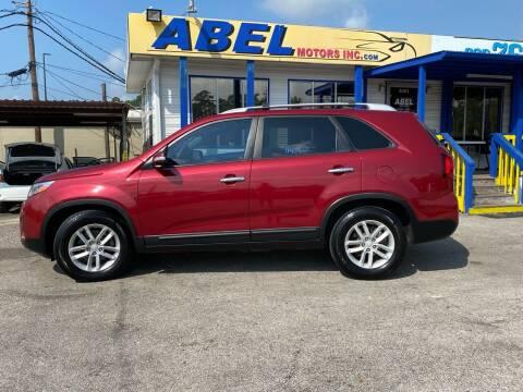2014 Kia Sorento for sale at Abel Motors, Inc. in Conroe TX