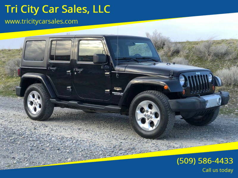 2013 Jeep Wrangler Unlimited for sale at Tri City Car Sales, LLC in Kennewick WA