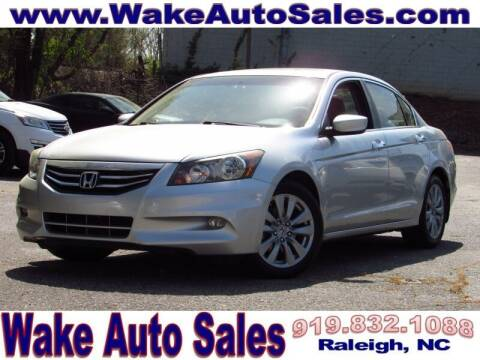 2012 Honda Accord for sale at Wake Auto Sales Inc in Raleigh NC