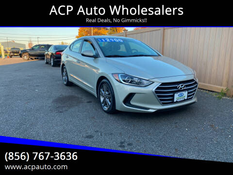 2017 Hyundai Elantra for sale at ACP Auto Wholesalers in Berlin NJ
