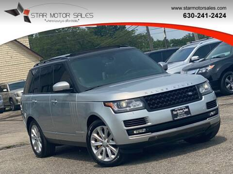 2013 Land Rover Range Rover for sale at Star Motor Sales in Downers Grove IL