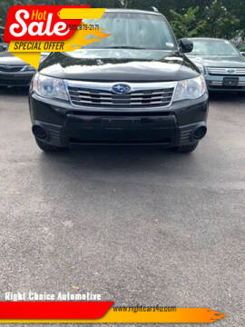 2009 Subaru Forester for sale at Right Choice Automotive in Rochester NY