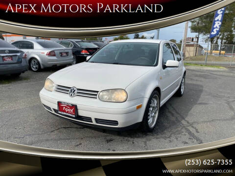1999 Volkswagen Golf for sale at Apex Motors Parkland in Tacoma WA