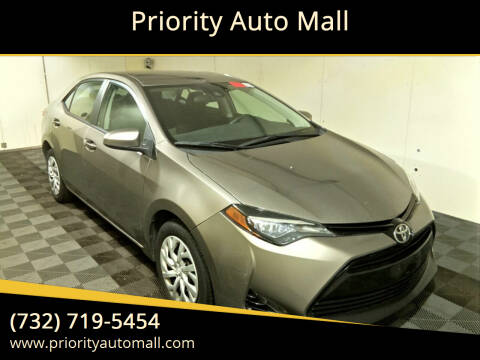 2017 Toyota Corolla for sale at Priority Auto Mall in Lakewood NJ