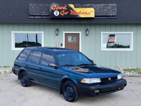 1992 Toyota Corolla for sale at Good 2 Go Motors LLC in Adrian MI