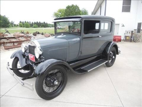 1928 Ford Model A for sale at OLSON AUTO EXCHANGE LLC in Stoughton WI