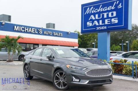 2020 Ford Fusion for sale at Michael's Auto Sales Corp in Hollywood FL