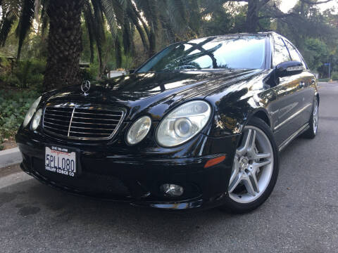 2005 Mercedes-Benz E-Class for sale at Valley Coach Co Sales & Lsng in Van Nuys CA