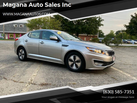 2012 Kia Optima Hybrid for sale at Magana Auto Sales Inc in Aurora IL
