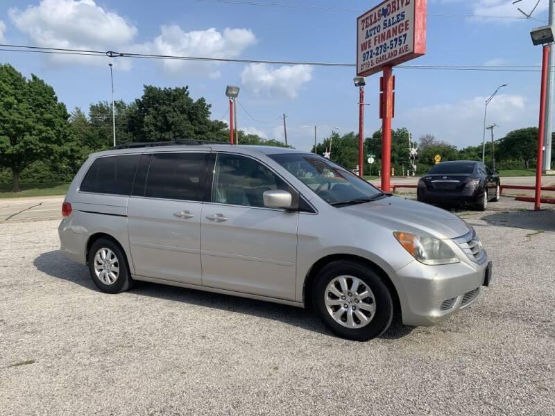 2009 Honda Odyssey for sale at Texas Drive LLC in Garland TX