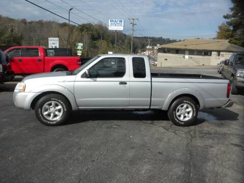 2002 Nissan Frontier for sale at D & B Auto Sales & Service in Martinsville VA