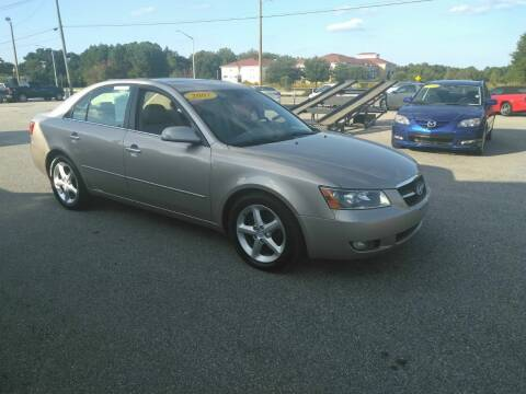 2007 Hyundai Sonata for sale at Kelly & Kelly Supermarket of Cars in Fayetteville NC