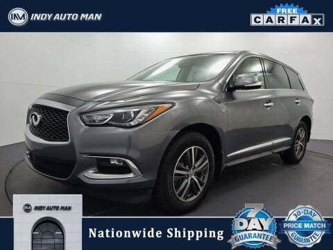 2018 Infiniti QX60 for sale at INDY AUTO MAN in Indianapolis IN
