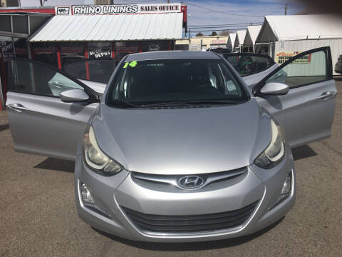 2014 Hyundai Elantra for sale at Auto Depot in Albuquerque NM