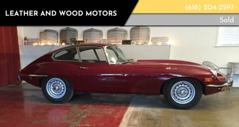 1969 Jaguar E-Type for sale at LEATHER AND WOOD MOTORS in Pontoon Beach IL