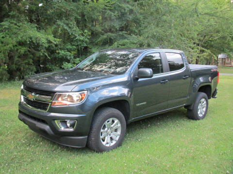 2019 Chevrolet Colorado for sale at White Cross Auto Sales in Chapel Hill NC