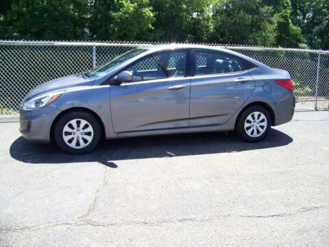2017 Hyundai Accent for sale at Collector Car Co in Zanesville OH