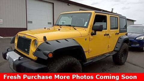 2015 Jeep Wrangler Unlimited for sale at Nyhus Family Sales in Perham MN