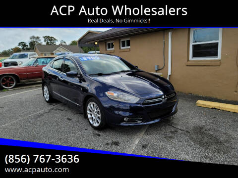 2013 Dodge Dart for sale at ACP Auto Wholesalers in Berlin NJ