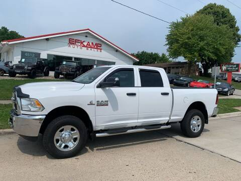 2018 RAM Ram Pickup 3500 for sale at Efkamp Auto Sales LLC in Des Moines IA