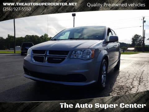 2014 Dodge Grand Caravan for sale at The Auto Super Center in Centre AL