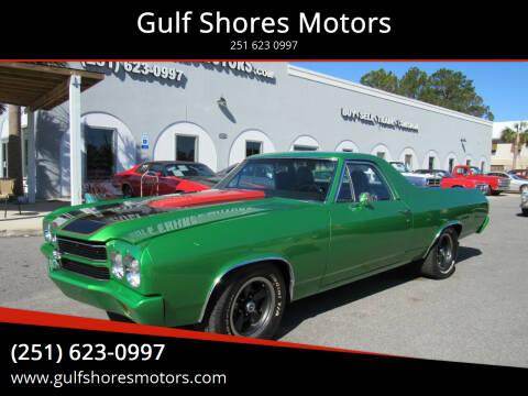 1970 Chevrolet El Camino for sale at Gulf Shores Motors in Gulf Shores AL