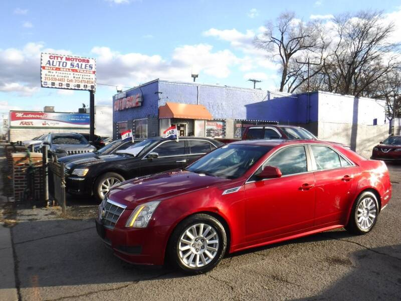 2010 Cadillac CTS for sale at City Motors Auto Sale LLC in Redford MI