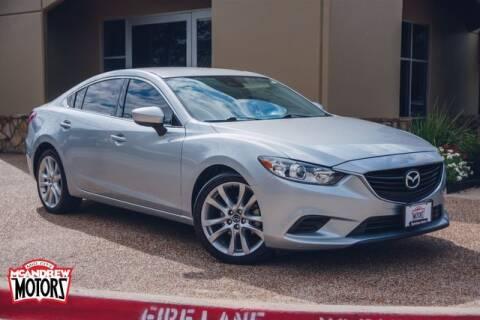 2017 Mazda MAZDA6 for sale at Mcandrew Motors in Arlington TX