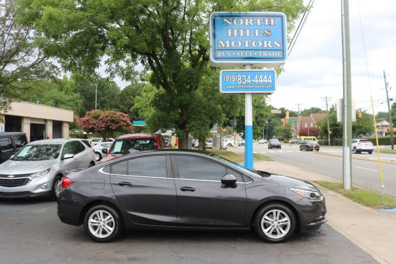2017 Chevrolet Cruze for sale at North Hills Motors in Raleigh NC