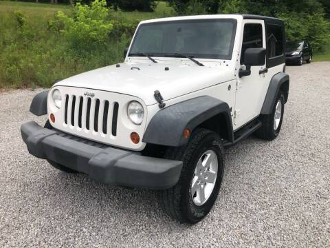 2007 Jeep Wrangler for sale at R.A. Auto Sales in East Liverpool OH
