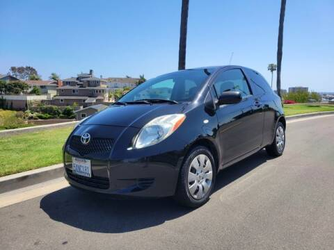 2007 Toyota Yaris for sale at DNZ Auto Sales in Costa Mesa CA