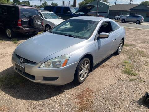 2005 Honda Accord for sale at Fast Vintage in Wheat Ridge CO