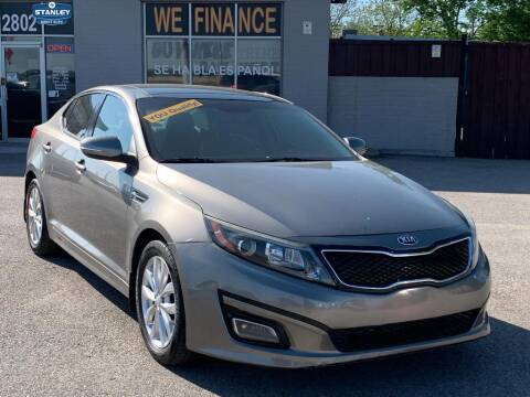 2015 Kia Optima for sale at Stanley Automotive Finance Enterprise - STANLEY DIRECT AUTO in Mesquite TX