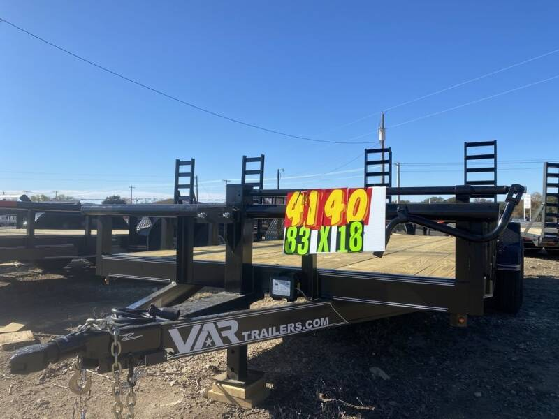 """2021 VAR - Equipment 83"""" X 18' - H for sale at LJD Sales in Lampasas TX"""