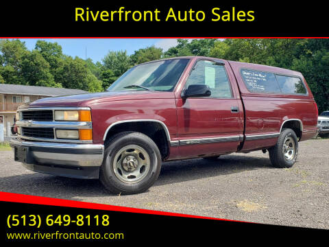 1998 Chevrolet C/K 1500 Series for sale at Riverfront Auto Sales in Middletown OH