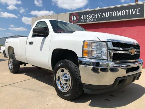 2014 Chevrolet Silverado 2500HD for sale at Hirschy Automotive in Fort Wayne IN