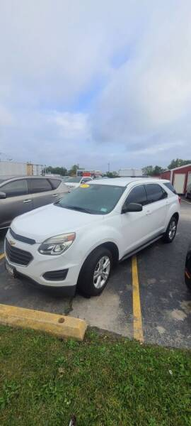 2016 Chevrolet Equinox for sale at Chicago Auto Exchange in South Chicago Heights IL